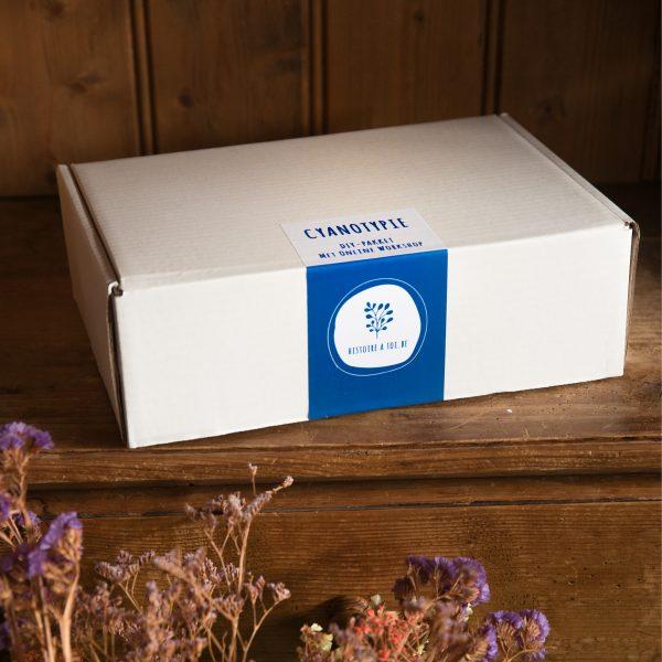 cyanotypie box